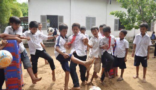 「アルムンドパスプロジェクト」 ネパールにボールを届けるプロジェクト、無事に完了