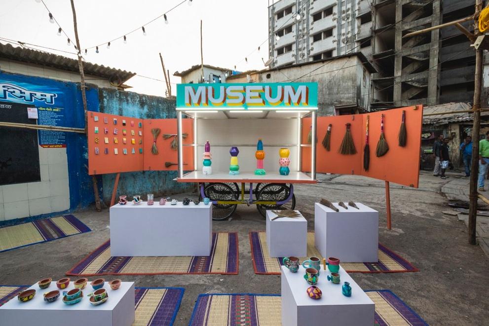 スラムにできた美術館 DESIGN MUSEUM DHARAVI