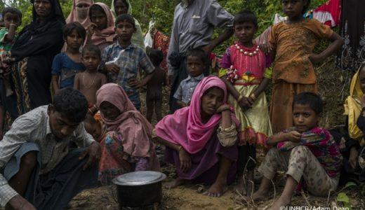 ロヒンギャ難民の方々に10万食を届ける為のプロジェクトがクラウドファウンディングに挑戦中
