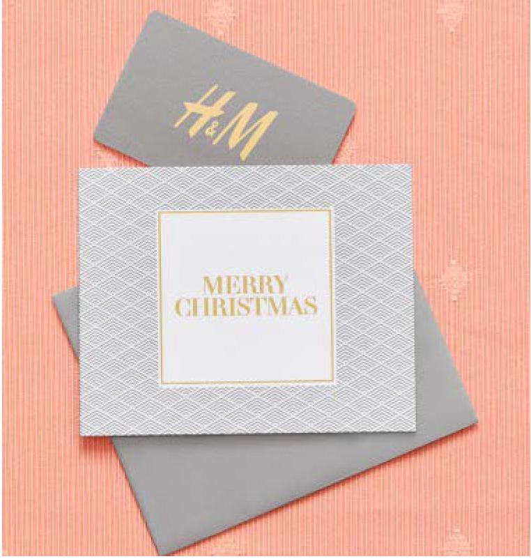 H&Mのギフトカードをプレゼントすることで、難民の子どもたちに学用品をプレゼントしよう!
